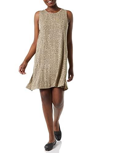 Amazon Essentials Women's Tank Swing Dress Kleid, Leopard, M